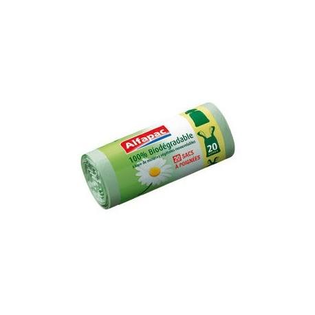 8 Sacs poubelles biodégradables 100L