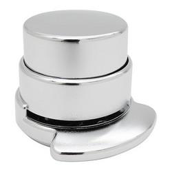 Agrafeuse sans agrafes cylindre - aspect chrome