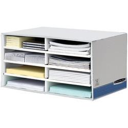Fellowes Trieur de bureaux Bankers Box, blanc/bleu
