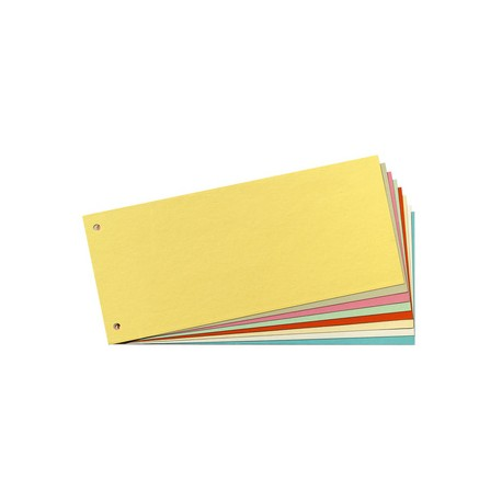 herlitz intercalaires, pour format A4, en carton manille, Vert