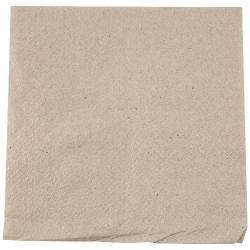 100 Serviettes 33X33 cm en papier recyclé - biodégradable