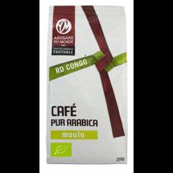 Café biologique moulu - 250gr - Congo