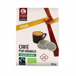 Café biologique dosettes - Pérou - 36 dosettes